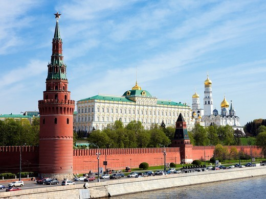 Stock Photo: 1566-571063 The Kremlin  Moscow, Russia
