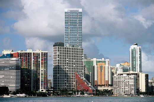 Stock Photo: 1566-572975 Miami skyline. Florida, USA