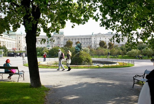 -Gardens & Parks- Wien (Austria). : Stock Photo