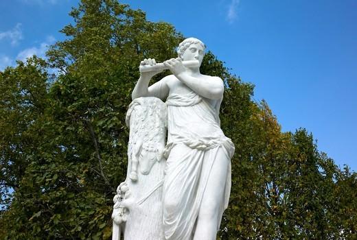 -Sculptures in Wien- Austria. : Stock Photo