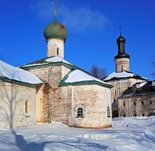 Stock Photo: 1566-574180 Kirillo-Belozersky Monastery, Kirillov, Vologda region, Russia
