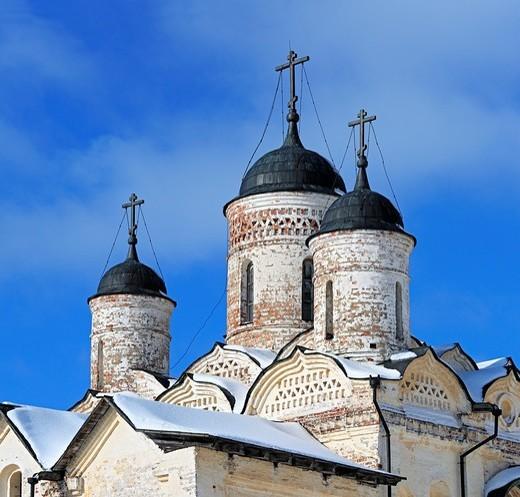 Stock Photo: 1566-574184 Church of the Transfiguration 1595, Kirillo-Belozersky Monastery, Kirillov, Vologda region, Russia