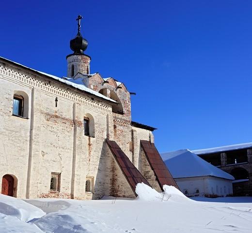 Stock Photo: 1566-574193 Kirillo-Belozersky Monastery, Kirillov, Vologda region, Russia