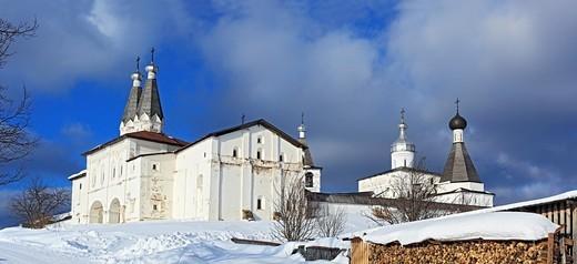 Stock Photo: 1566-574199 Ferapontov Monastery, Ferapontovo, Vologda region, Russia