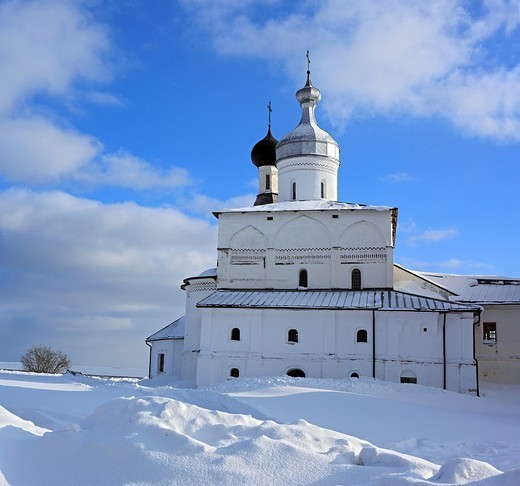 Stock Photo: 1566-574200 Ferapontov Monastery, Ferapontovo, Vologda region, Russia