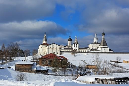 Stock Photo: 1566-574241 Ferapontov Monastery, Ferapontovo, Vologda region, Russia