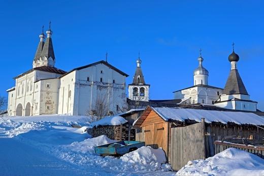 Stock Photo: 1566-574243 Ferapontov Monastery, Ferapontovo, Vologda region, Russia