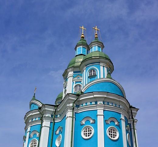 Transfiguration church 1771, Krasnogorskiy monastery, Zolotonosha, Cherkasy Oblast, Ukraine : Stock Photo