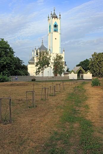 Stock Photo: 1566-574300 Transfiguration church, 1830s, Moshny, Cherkasy Oblast, Ukraine