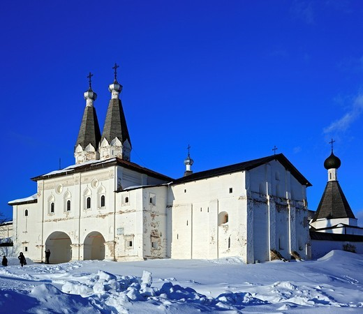 Stock Photo: 1566-574859 Ferapontov Monastery, Ferapontovo, Vologda region, Russia
