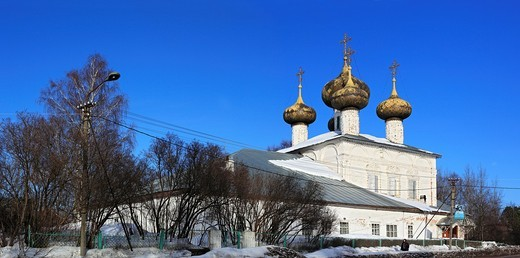 Stock Photo: 1566-574869 Cathedral of Nativity of Our Lady 1690, Ustyuzhna, Vologda region, Russia