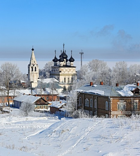 Stock Photo: 1566-574875 Belozersk, Vologda region, Russia