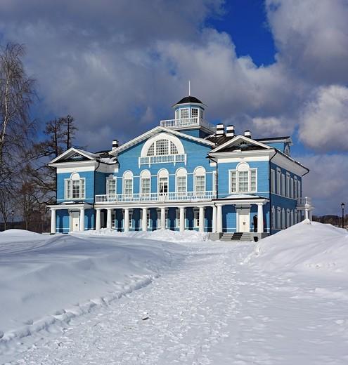 Stock Photo: 1566-574877 Estate house 1800s, Gorka Galskikh, Cherepovets, Vologda region, Russia