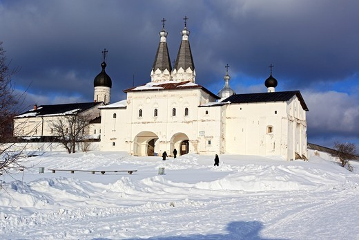 Stock Photo: 1566-574904 Ferapontov Monastery, Ferapontovo, Vologda region, Russia