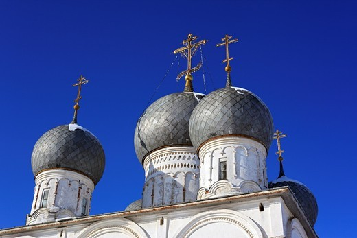Stock Photo: 1566-574910 St  Transfiguration Cathedral 1670, Belozersk, Vologda region, Russia