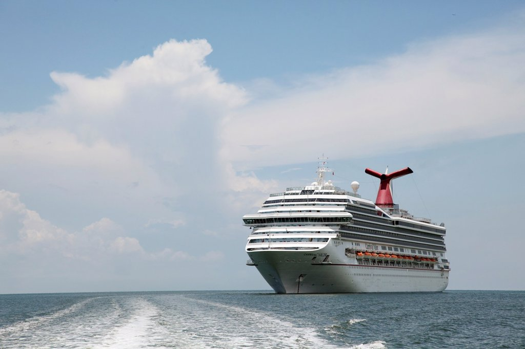 Stock Photo: 1566-574995 Cruise ship