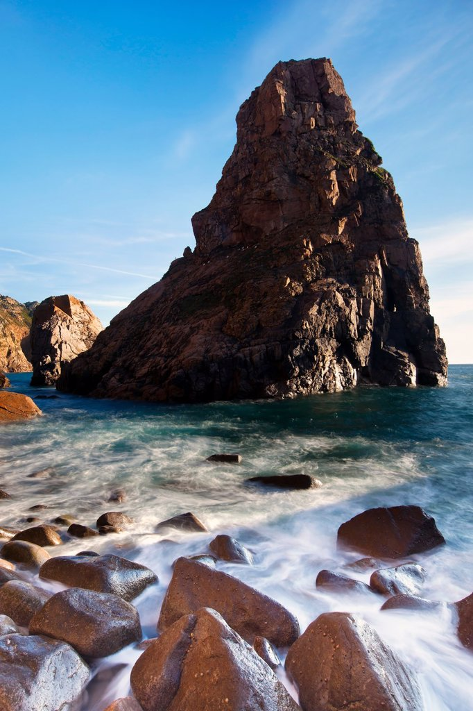 Beach in Sintra Natural Park, Portugal : Stock Photo