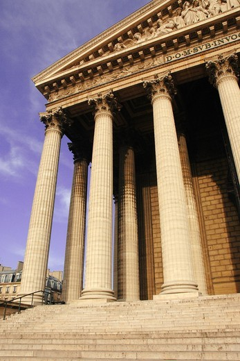 Stock Photo: 1566-578463 Madeleine Church  Paris  France