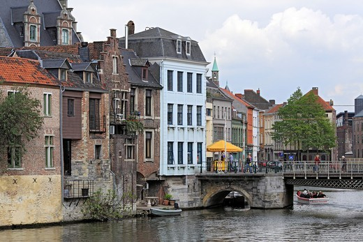 Old gouse, Ghent, Belgium : Stock Photo