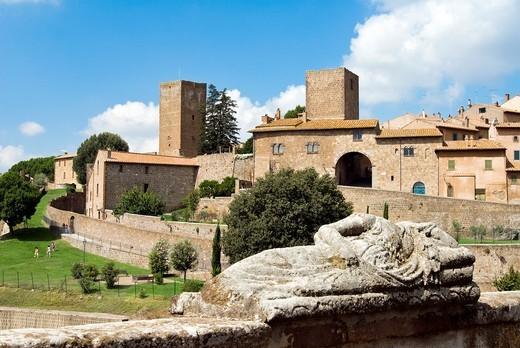 Stock Photo: 1566-581614 Etruscan sarcophagus, Tuscania, Viterbo Province, Latium, Italy
