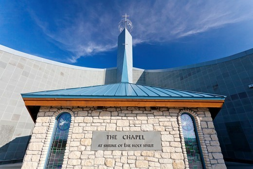 The shrine of the Holy Spirit exterior in Branson, Missouri, USA : Stock Photo