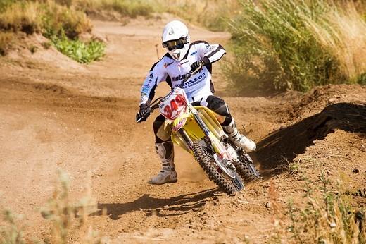 Motocross : Stock Photo