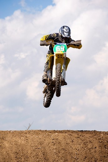 Stock Photo: 1566-588021 Motocross