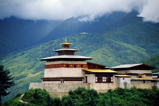 Changangkha Monastery Thimphu Bhutan  Butan : Stock Photo