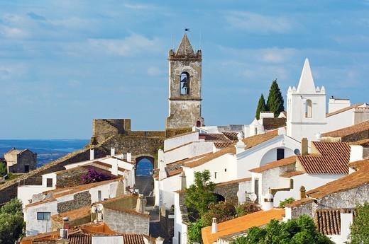 Monsaraz, Evora district, Alentejo, Portugal, Europe. : Stock Photo