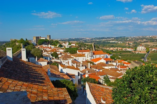 Obidos, Leiria distric, Estremadura, Portugal. : Stock Photo