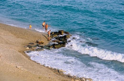 'Las Olas' beach Almeria Andalucia, Spain : Stock Photo