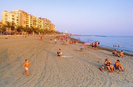 Stock Photo: 1566-588404 'Zampillo' beach Almeria Andalucia, Spain