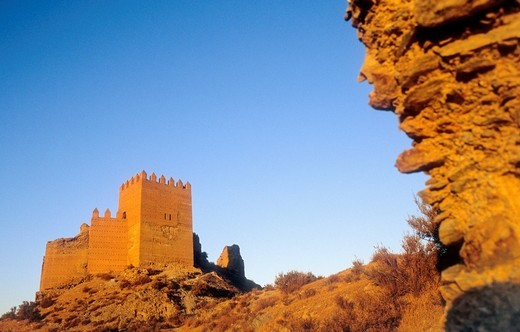 Alcazaba Tabernas  Almeria province, Andalucia, Spain : Stock Photo