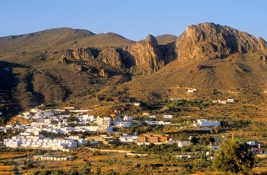 Lucainena de las Torres Sierra Alhamilla Almeria province, Andalucia, Spain : Stock Photo