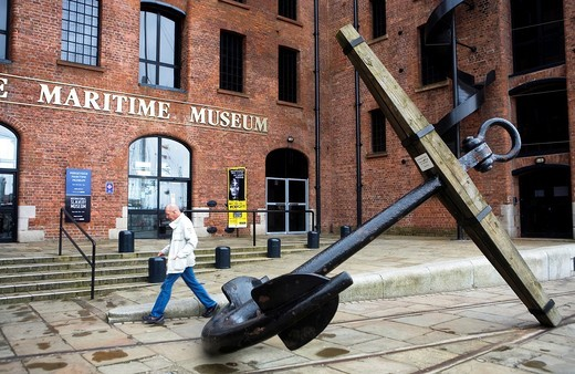 Stock Photo: 1566-588497 Merseyside Maritime Museum  In Albert Dock  Liverpool  England  UK