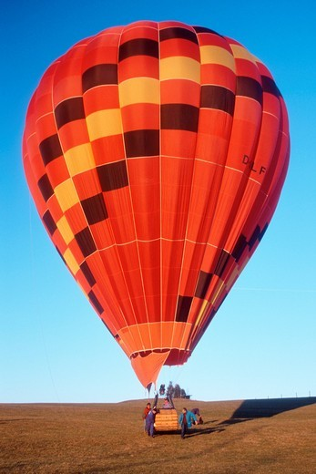Stock Photo: 1566-589324 Red Balloon