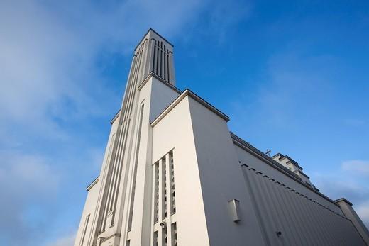 Lithuania, Central Lithuania, Kaunas, Christ´s Resurrection Basilica : Stock Photo