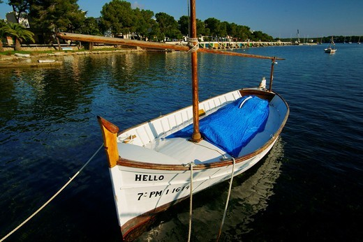 Porto Colom Migjorn Felanitx Mallorca Baleares Spain : Stock Photo