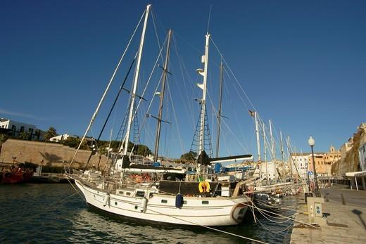 Stock Photo: 1566-594513 Ciutadella Menorca Balearic Islands Spain