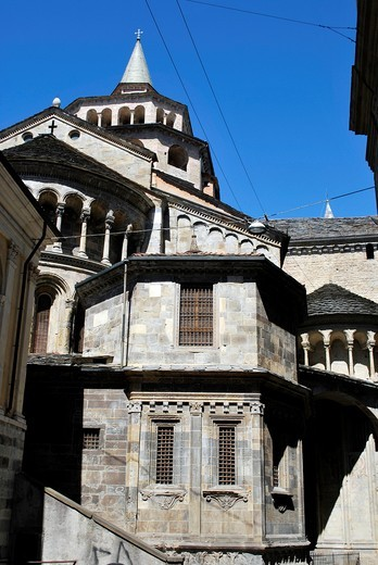 italy, Bergamo, S M Maggiore, : Stock Photo