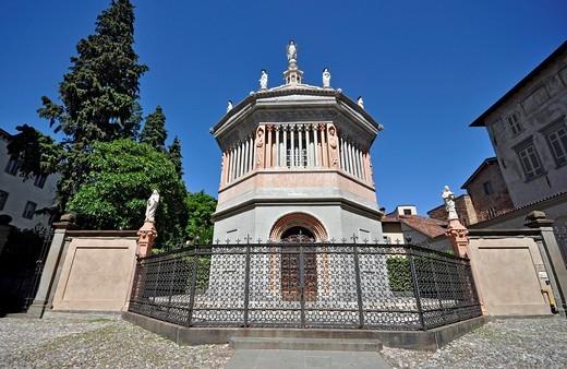 italy, Bergamo, baptistery, : Stock Photo