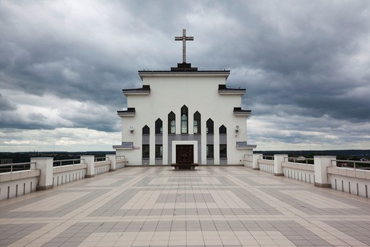 Lithuania, Central Lithuania, Kaunas, Christ´s Resurrection Basilica : Stock Photo