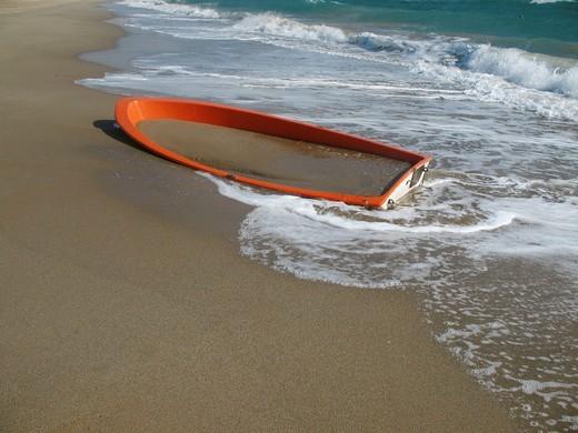 Stock Photo: 1566-596303 Abandoned boat