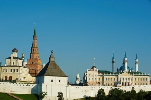 Russia, Tatarstan Republic, City of Kazan  Historic and Architectural Complex of the Kazan Kremlin, Unesco World Heritage : Stock Photo