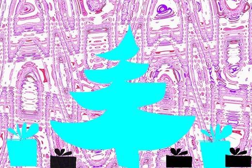 christmas-tree illustration : Stock Photo