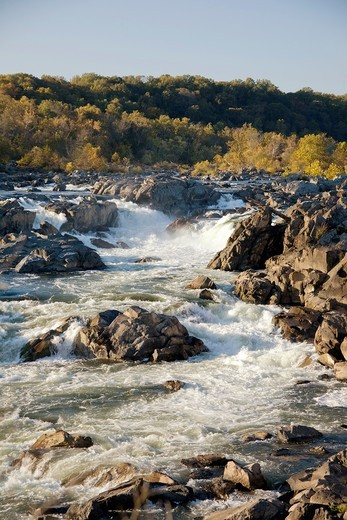 Great Falls National Historic  Park, maryland : Stock Photo