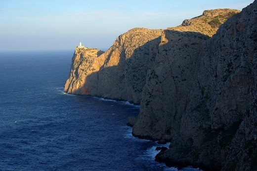 Faro de Formentor 1863 Cap de Formentor Pollença Mallorca Balearic Islands Spain : Stock Photo
