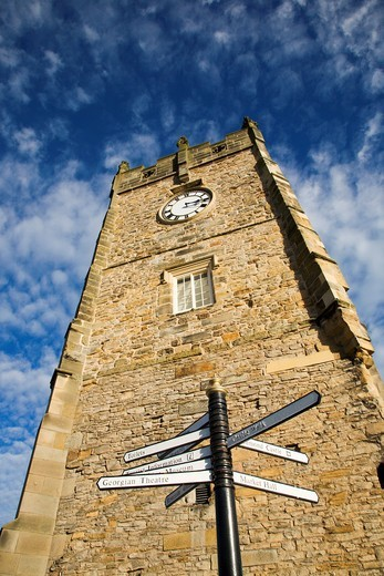 Holy Trinity Church Richmond North Yorkshire England : Stock Photo
