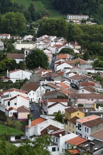 Furnas / Sao Miguel Island / Azores / Portugal : Stock Photo