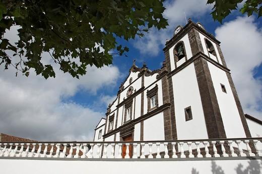 Church of Nossa Senhora dos Anjos / Agua de Pau / Sao Miguel Island / Azores / Portugal : Stock Photo